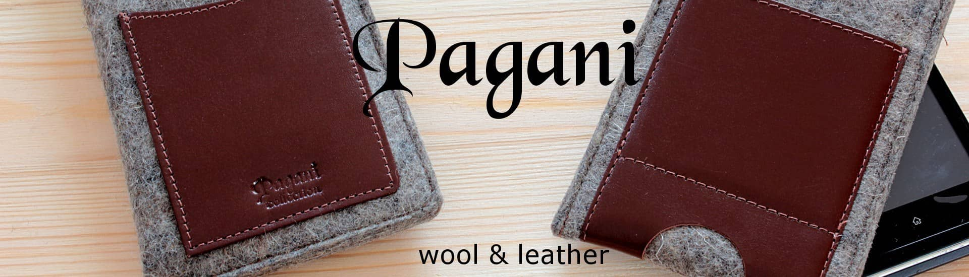 Pagani collection - wool & leather