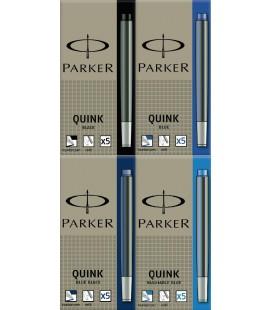 Naboje atramentowe Parker Dark-Blue S0116250