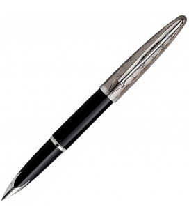 Pióro wieczne Waterman Carene Contemporary Czerń i Metal ST S0909910