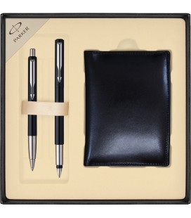 Zestaw Parker Vector Standard pióro i długopis z portfelem