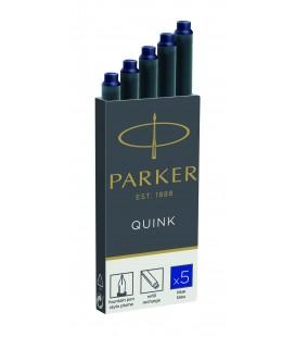 Naboje atramentowe Parker Niebieski 1950384