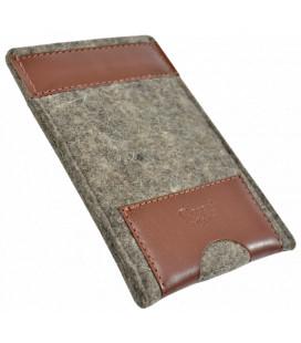 PAGANI etui na telefon - wool&leather