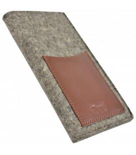 PAGANI etui na smartfon - wool&leather