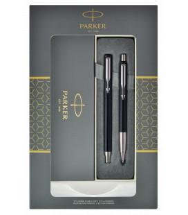 Zestaw Parker Vector pióro i długopis w pudełku podarunkowym Parker