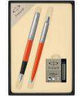 Zestaw Parker Jotter Originals pióro i długopis z nabojami PARKER