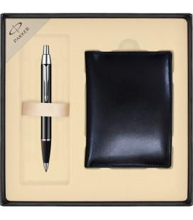 Zestaw Parker IM długopis z portfelem