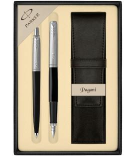 Zestaw Parker Jotter Originals pióro i długopis z etui Pagani