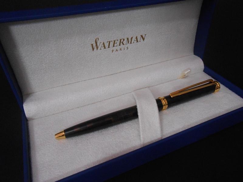 Długopis Waterman Harmonie Salonowy Brąz GT