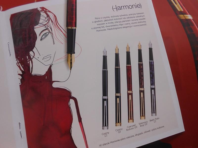 Waterman Harmonie w katalogu z 2005 roku