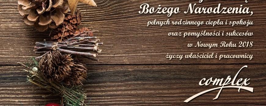 Życzenia na Boże Narodzenie oraz Nowy Rok