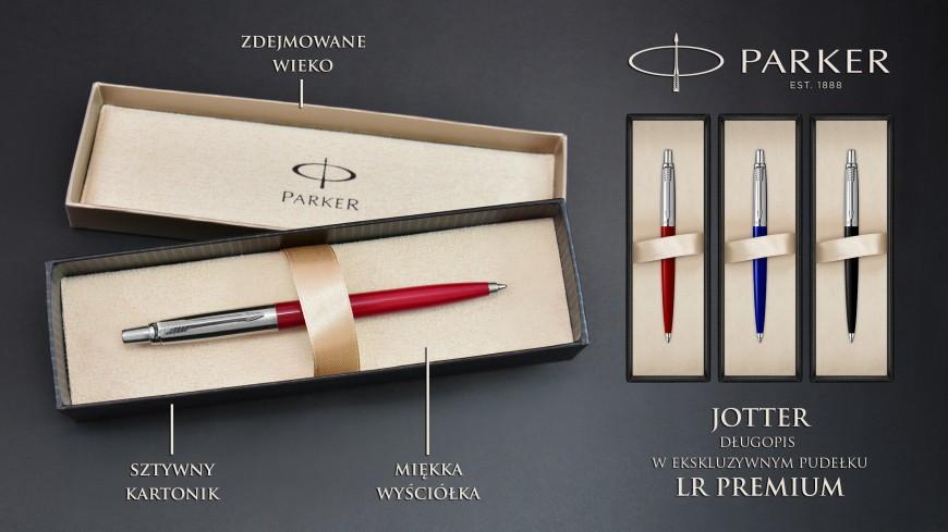 Długopisy Parker Jotter w ekskluzywnym pudełku premium!
