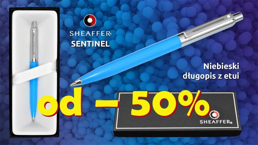 Długopis SHEAFFER Sentinel w naszej ofercie przynajmniej - 50%