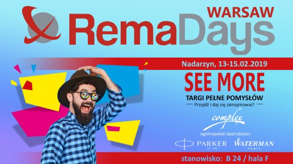 PARKER & WATERMAN na targach RemaDays 2019