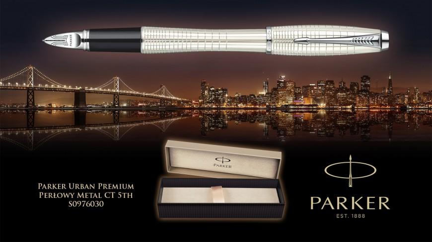 Promocja na Parker 5th Urban Premium Perłowy Metal CT