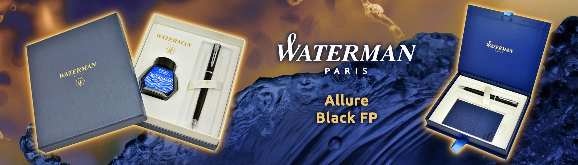 Waterman Allure Black CT FP
